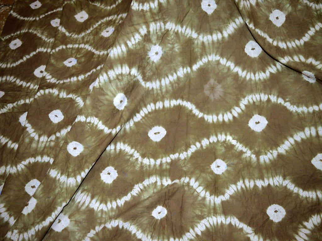 Tie Dye Indigo Fabric By The Yard Indian Cotton Fabric Etsy
