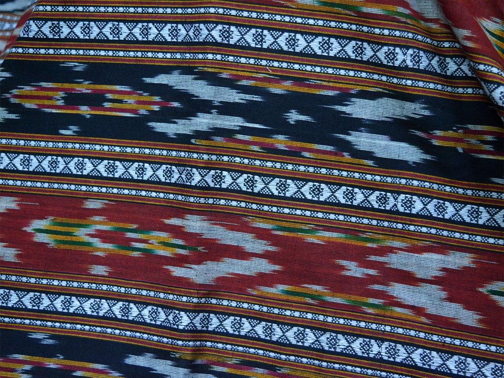 Indian Fabric Ikat Fabric Ikat Cotton Fabric By The Yard