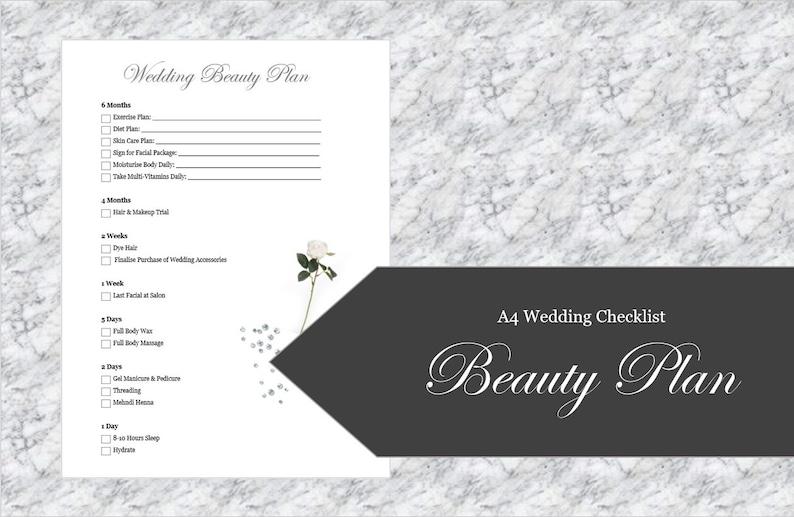 Wedding Beauty Plan image 0