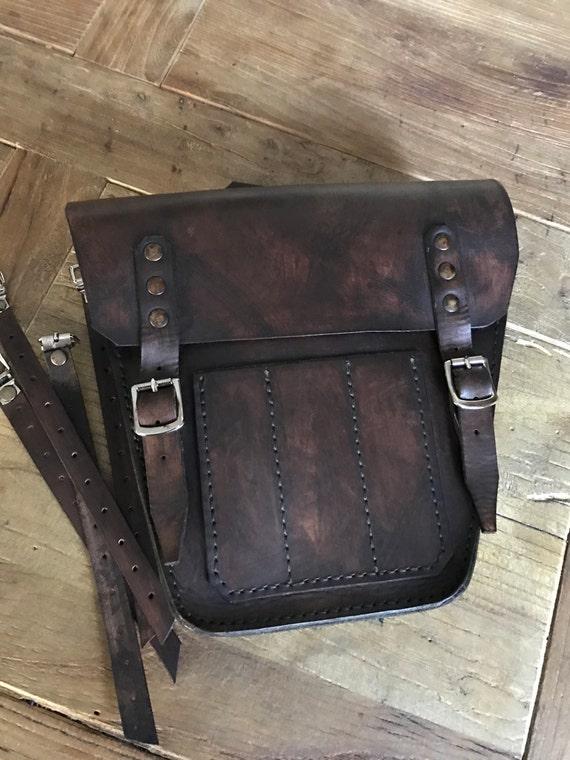Triumph Bonneville Scrambler left side bag cover ...