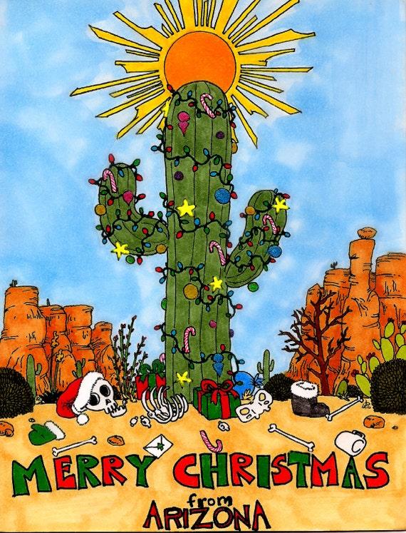 arizona christmas cards