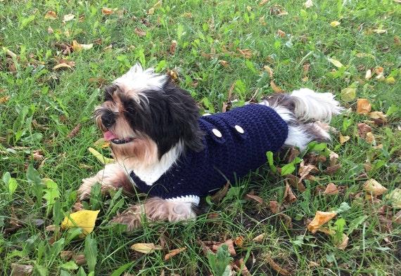 Dog Sweatercoathandmade Clothes For Petsmall Dog Etsy