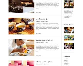 Food blog, Food Blog Website, Food Blog Design, WordPress Blog Designers, WordPress Blog Templates, WordPress Blog Themes, WordPress Website