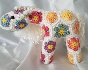 African Flower Pony Etsy