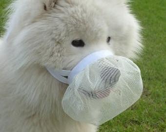 Smuzzle: A soft muzzle that lets your dog Smile
