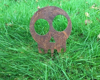 Seahorse Rusty Mild Steel Metal Garden Pond Art Ornaments