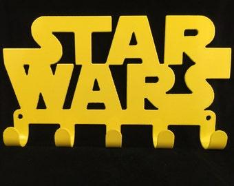 Star Wars, Towel, door, key hanger holder rack CNC Plasma cut