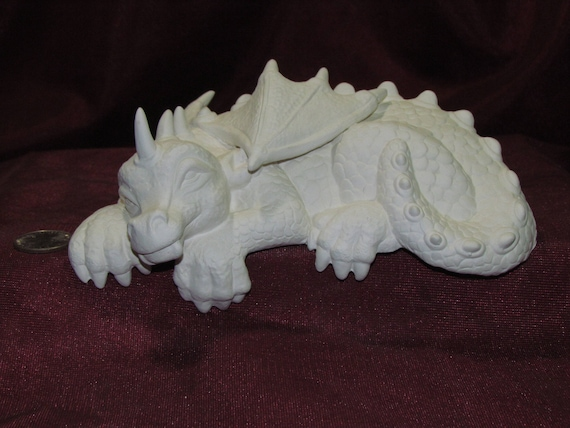 Devil Figurine Shelf Sitter unpainted ceramic bisque ready to be painted