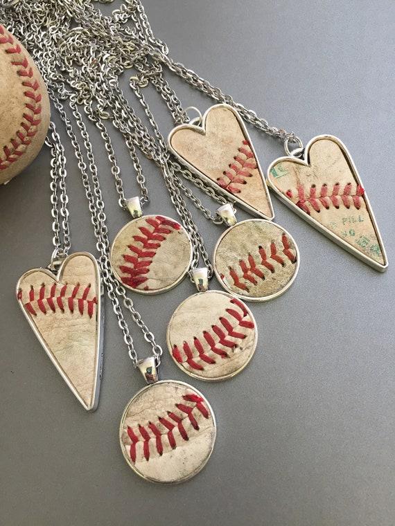 Baseball Mom Jewelry Team Gift Gift from Player Baseball Cap Charm Baseball Fan Jewelry Hand Stamped Baseball Jewelry Personalized