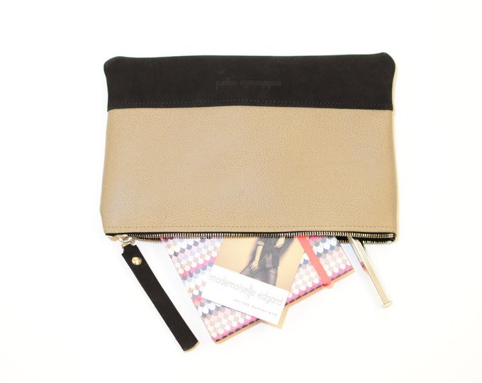 NATHAN leather pouch
