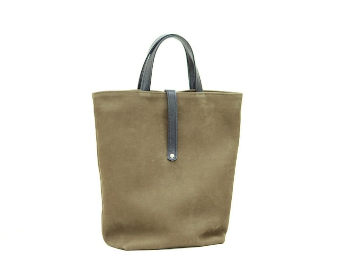 MILO leather tote