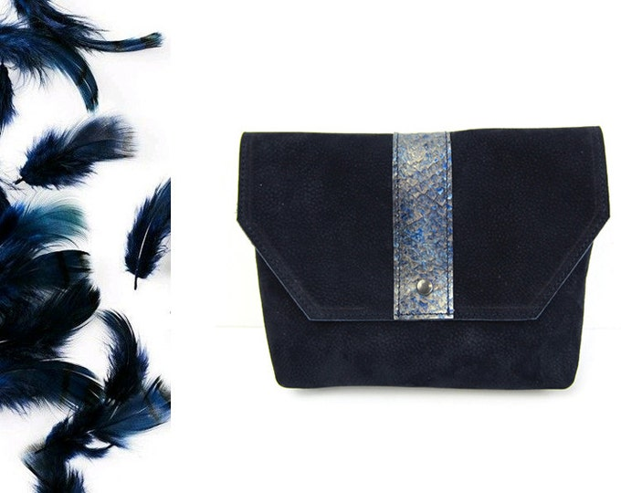 COLIN pouch - Fish leather