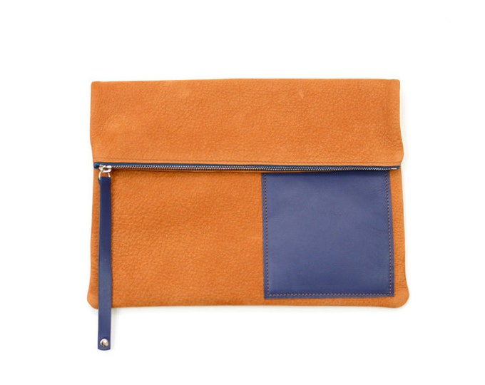 SIMON leather pouch