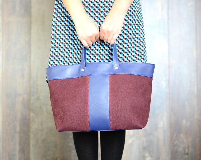 NELSON leather tote