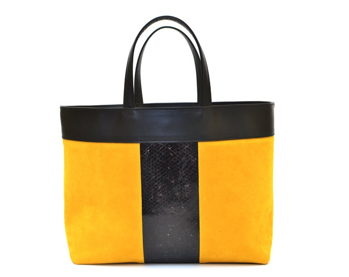 NELSON Tote - fish leather