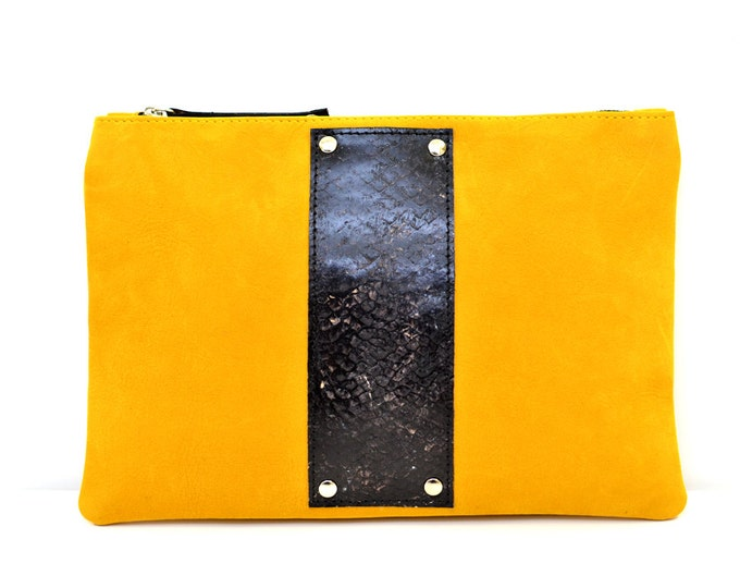 HUGO pouch - fish leather