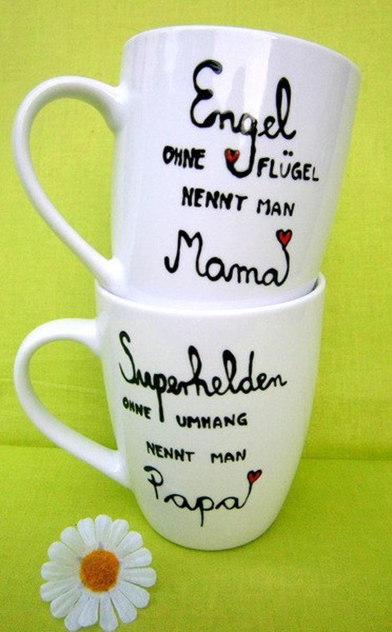 PAPA SUPERHELD Tasse Kaffeetasse Kaffeebecher Becher Cup