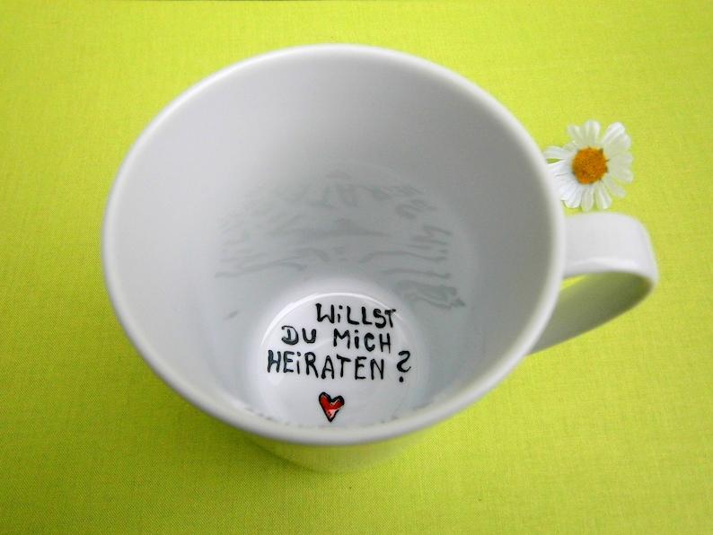 Tasse Willst du mich heiraten