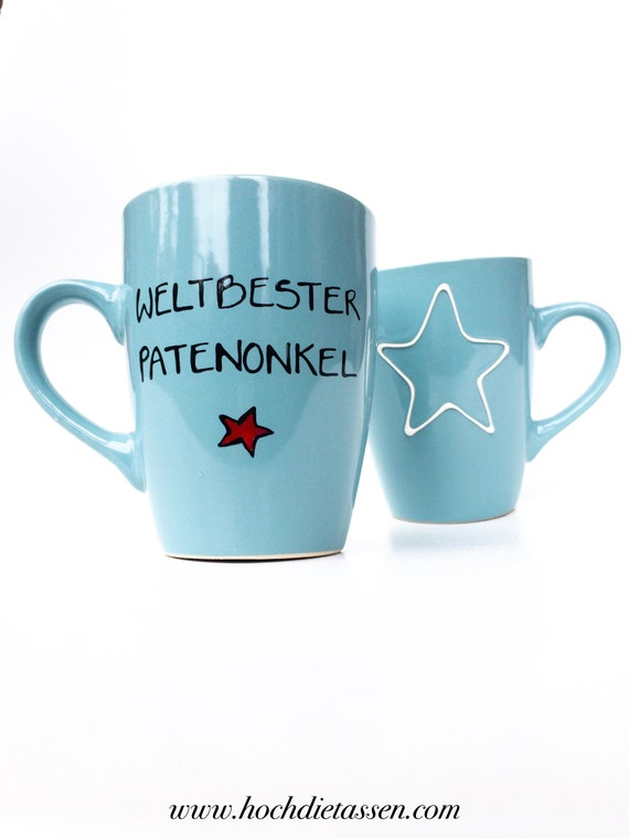 Tasse Für Den Patenonkel Taufe Patenonkel Geschenk Patenonkel Patenter Onkel Patenonkel