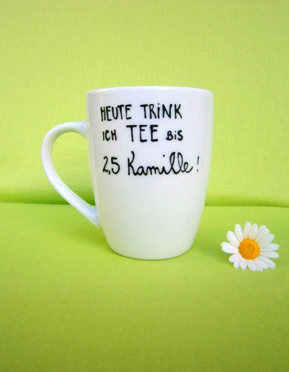 Teetasse mit Spruch Teetasse für Teeliebhaber Tee | Etsy