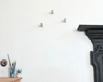 Concrete Wall Hooks/Wall Hooks/Coat Hooks/Concrete/Wall Hook/Towel Hooks/ Storage/Coat Hook/Beton/Towel Hook/Rack/Gift Idea/Gift/SET OF 3