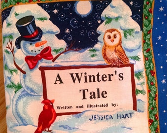 Cloth Book – A Winter's Tale -  Item BK150106