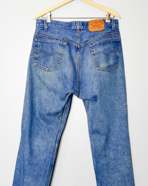 RARE 501-0113 Levis Jeans 33/34, Made in the USA,… - image 6