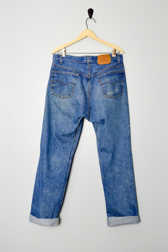RARE 501-0113 Levis Jeans 33/34, Made in the USA,… - image 5