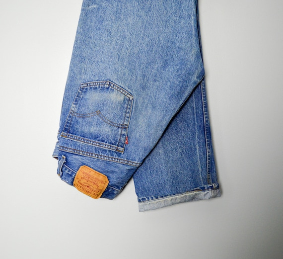 RARE 501-0113 Levis Jeans 33/34, Made in the USA,… - image 1