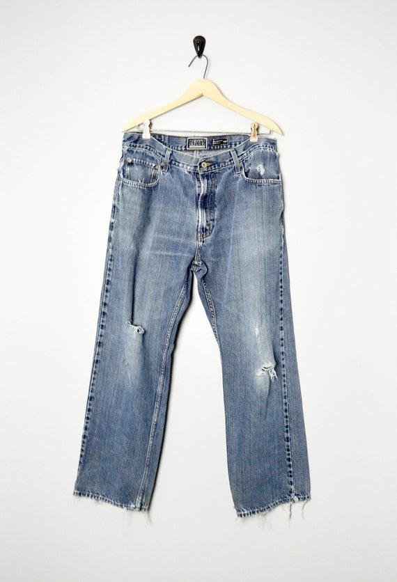 Vintage Trashed 559 Levis Jeans 36, 90s Levis, Vin
