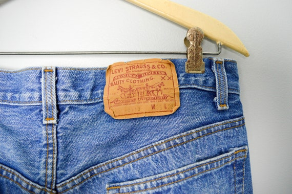 RARE 501-0113 Levis Jeans 33/34, Made in the USA,… - image 7