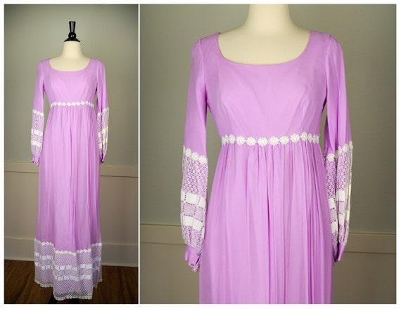 Hippie Dress, Vintage Clothing, 70s Clothing, Fest
