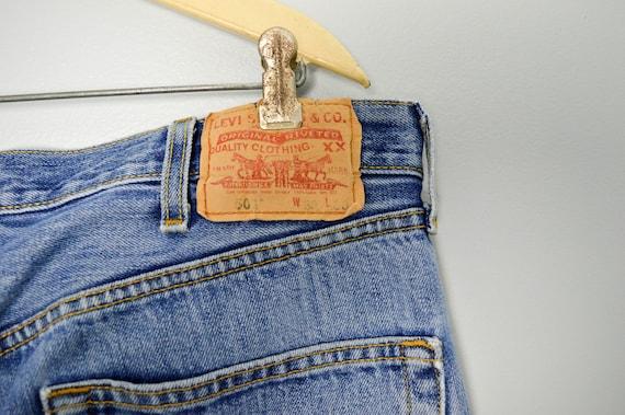 Vintage Distressed 501 Levis Jeans 38, Vintage Cl… - image 7