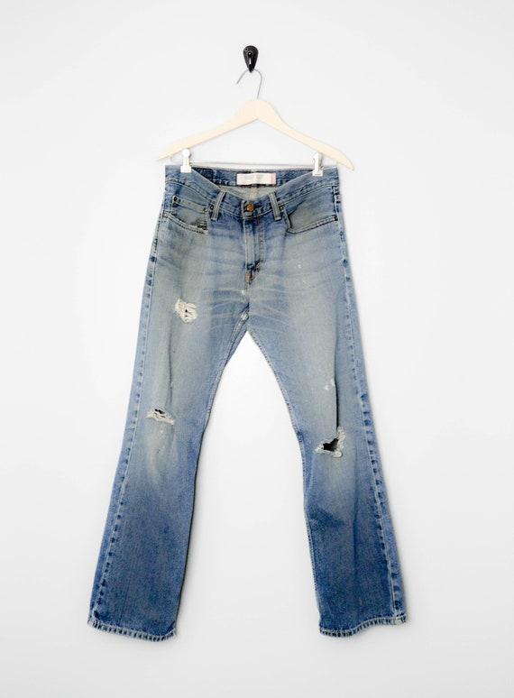 Vintage Trashed 527 Levis Jeans 31, 90s Levis, Vin