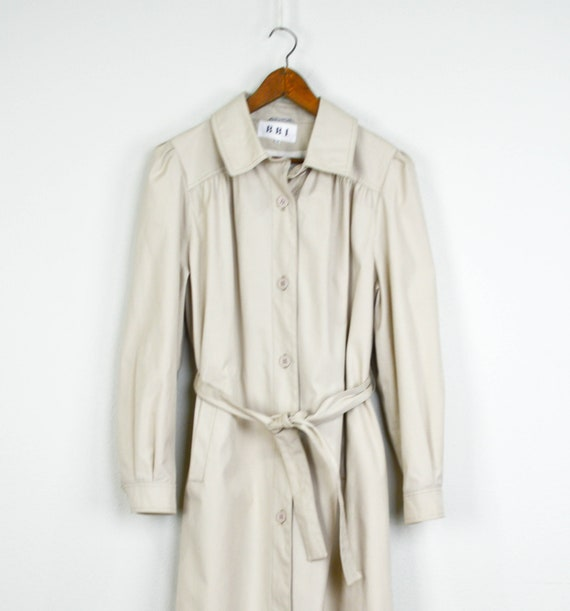 Vintage 70s Trench Coat, Vintage Clothing, Khaki T