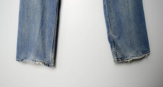 Trashed Vintage Distressed 569 Levis Jeans 34, 90… - image 6