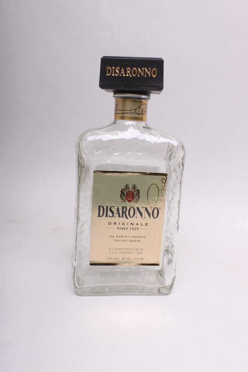Image result for amaretto empty bottle