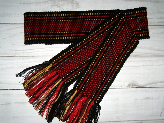 folk krajka Pastel handwoven Belt Slavic woven Ribbon Ukrainian Grid gift for mother Krayka for Vyshyvanka colorful sash Ethnic belt