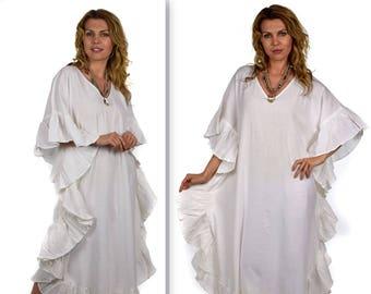 Comfyplus All Natural Quality Soft Cotton Gauze Kaftan. Sizes XL 2XL 0f95c1b30
