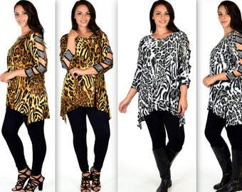 Exotic Animal Print Party Dresses