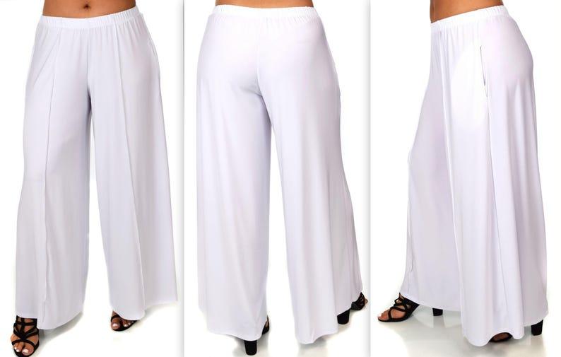 a3f65739332 Comfy Plus Pants White Pants Plus Size Pants Lagenlook