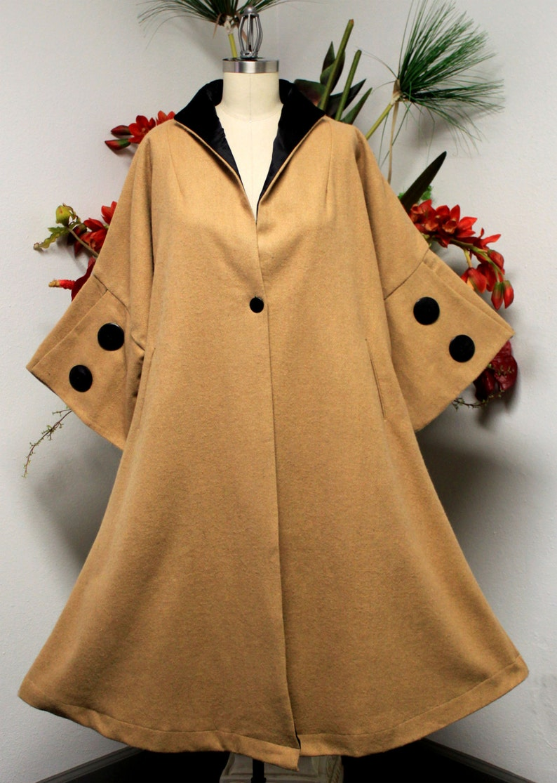 Vintage Coats & Jackets | Retro Coats and Jackets Designer Coat Women Swing Coat Women Wool Coat Plus size Coat Plus Size Heavy Wool Coat Swing Coat. $86.39 AT vintagedancer.com