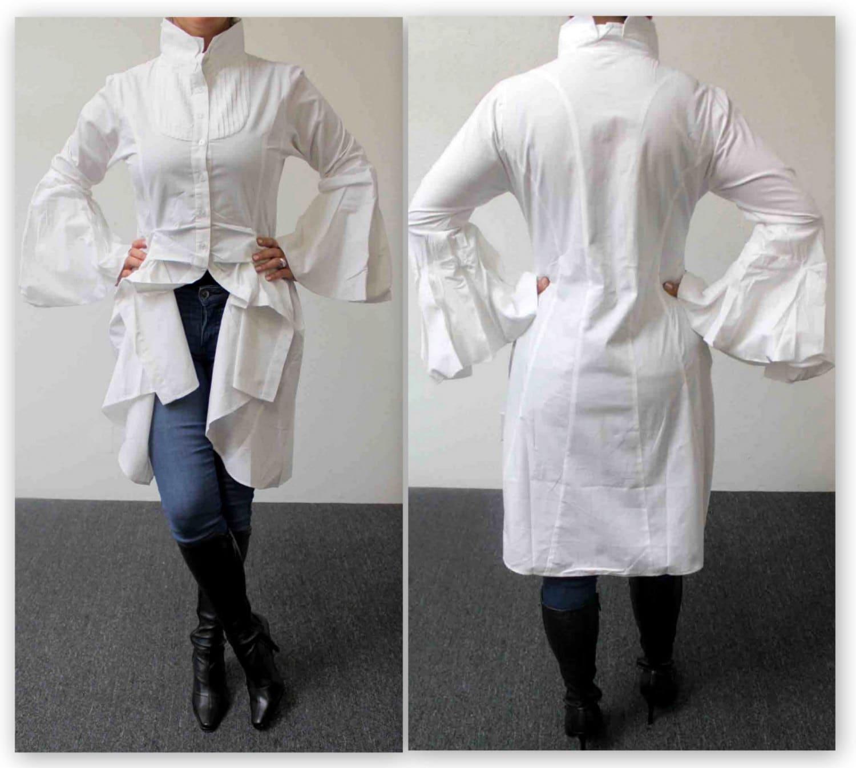 902b06d0b92 New Western All Cotton Designer Hi Lo Plus Size High End