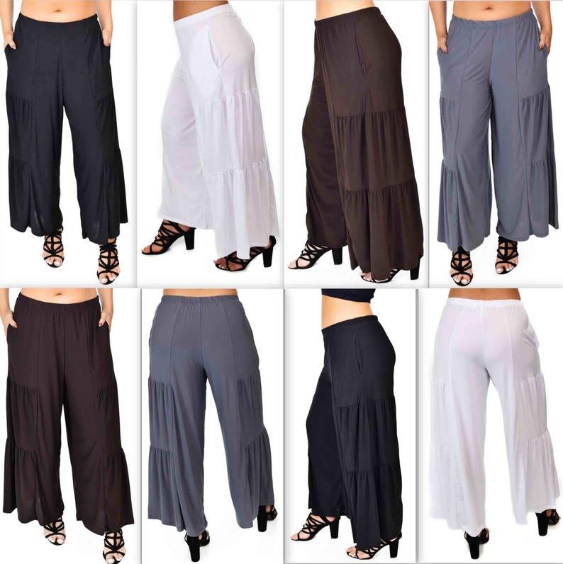 7190872fe09 Comfy Plus Pants Designer Pants Tiered Pants Plus Size