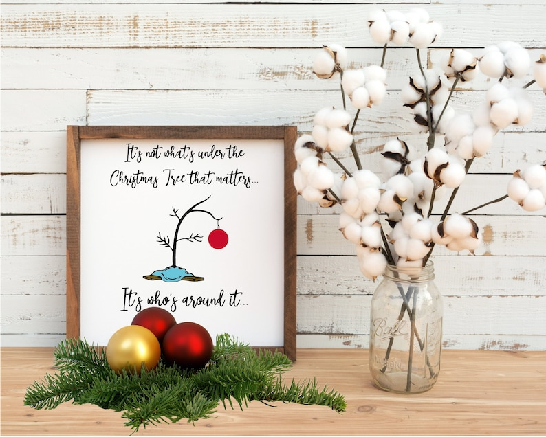 Charlie Brown Christmas Tree Silhouette.Charlie Brown Christmas Tree Xmas Svg Dxf Png Digital Cut File For Use With Cutting Machines Cricut Silhouette