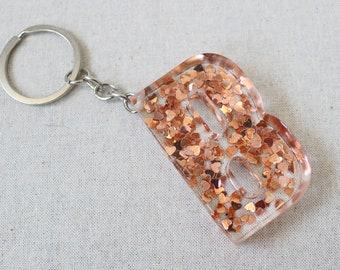 Custom resin letter keychain 8095c7f42