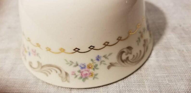 4 12 Cranberry Bowl Duchess Paden City Vintage