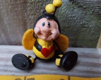 Super Cute Bumble Bee Brooch