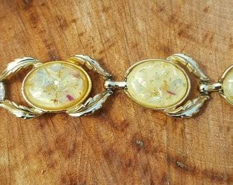 Coro Confetti Lucite bracelet