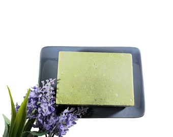Facial Cleansing Bar For Sensitive Skin, Soap Free Cleanser, Acne and Eczema Face Cleanser,  Dead Sea Clay